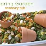 Spring Garden Sensory Tub