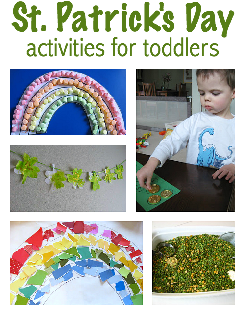 st.patrick's day crafts for toddlers