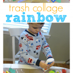 Trash Rainbow Craft