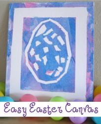 Easter Egg Art Project For Kids