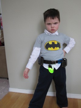DIY Batman Belt and Mask