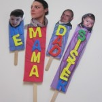 Family Puppets – Inspired By WordWorld !