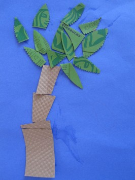 Coffee Sleeve Tree – Arbor Day Craft