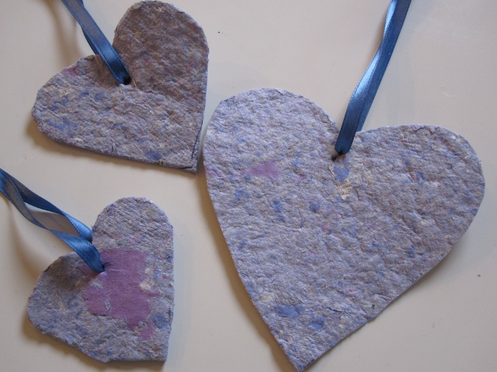 DIY Recycled Paper Project