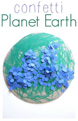 Recycled Earth Day Craft