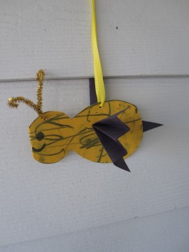 Baby Bumble Bee Craft