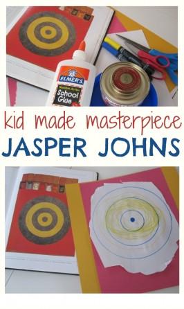 Inspired By Jasper Johns Fine Art Activity For Kids