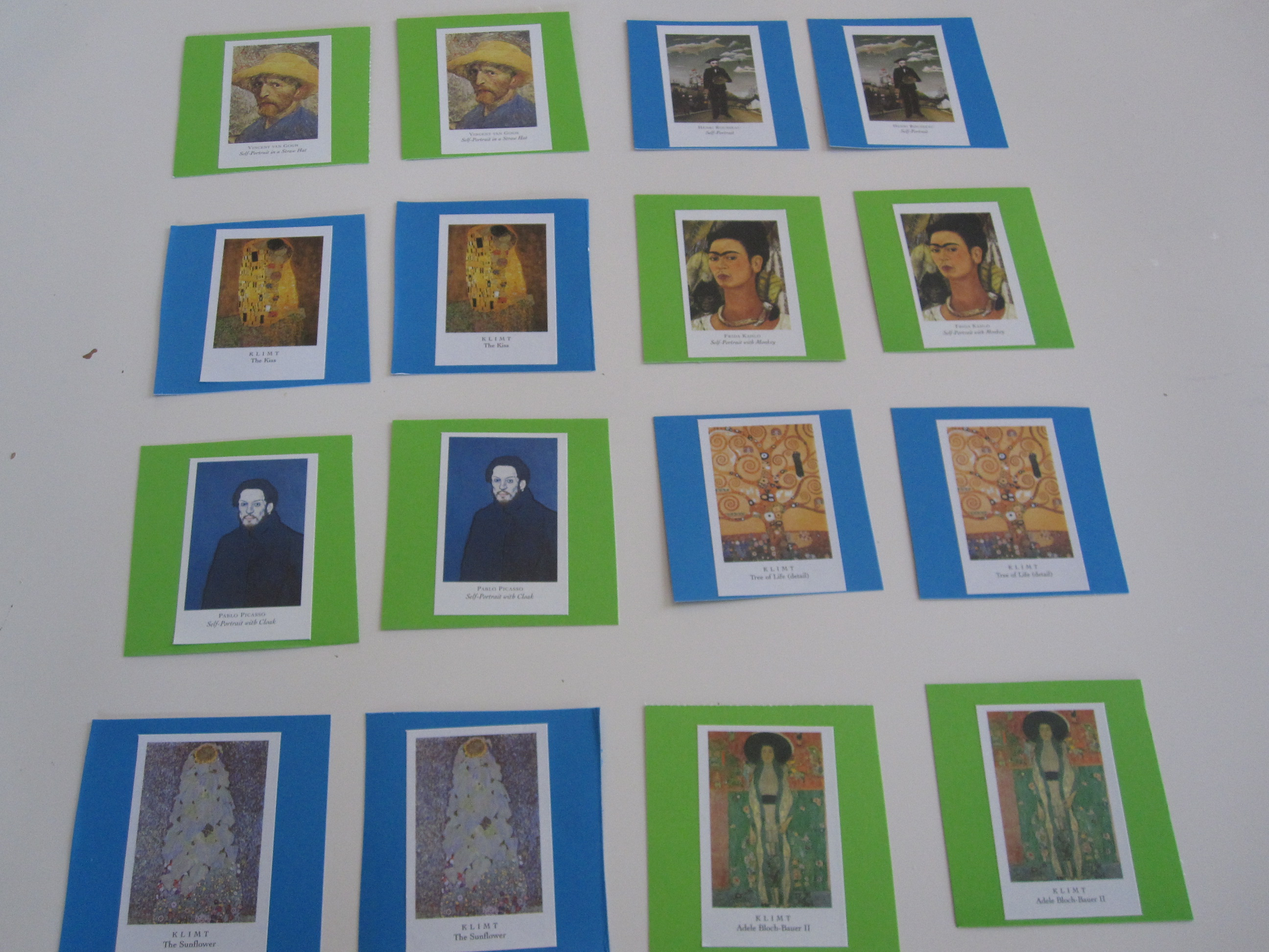 Masterpiece Memory Game - No Time For Flash Cards