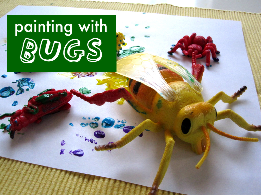 foto de Bug Painting for All Ages - No Time For Flash Cards