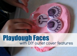 DIY Mr.Playdough Face
