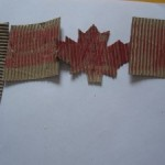 Recycled Canada Day Craft