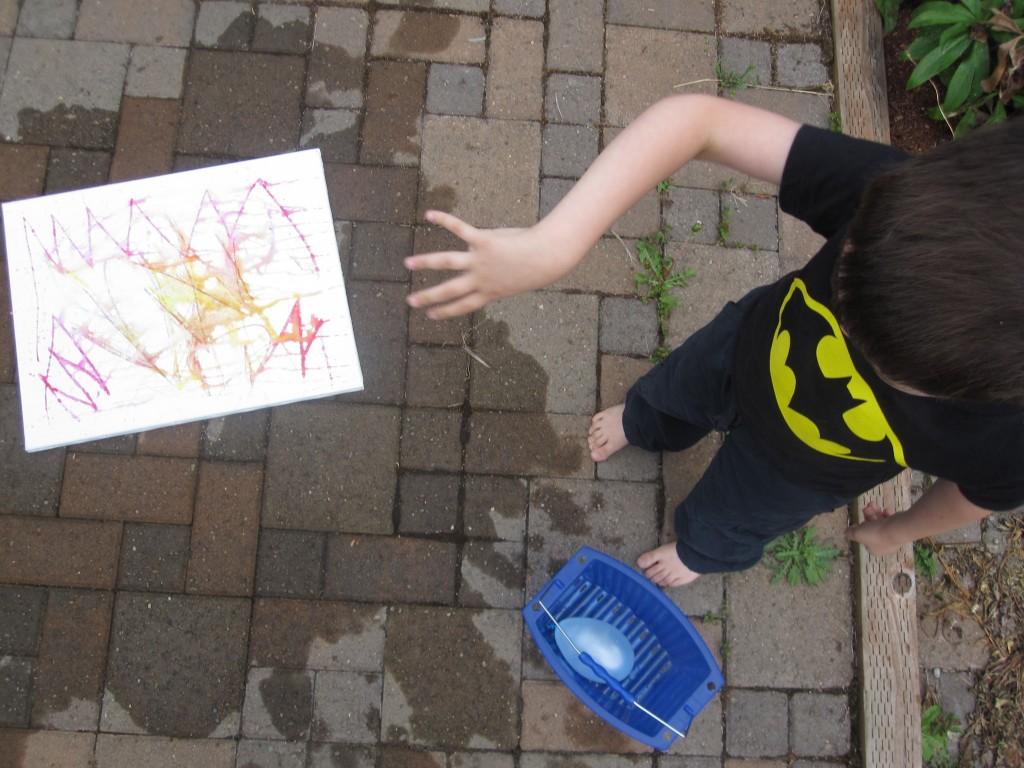 Water Balloon Art