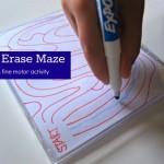 Frustration Free Dry Erase Mazes