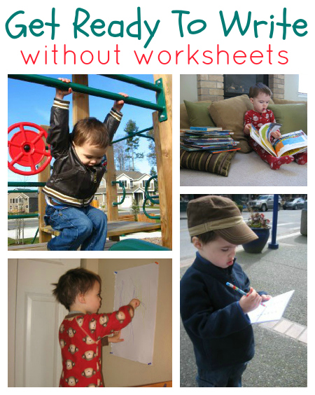 Get Ready To Write Activities No Worksheets