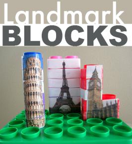 Famous Landmark Blocks