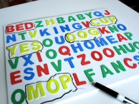 3D Word Search