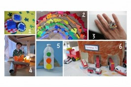 6 great recycled crafts for kids