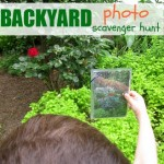 Backyard Photo Scavenger Hunt