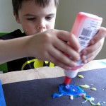 Art Exploration With Colored Glue