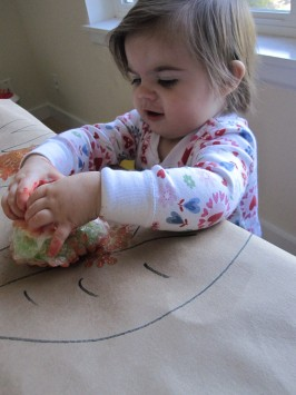 Autumn Painting for Toddlers