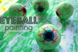 Not Too Gross – Eye Ball Painting
