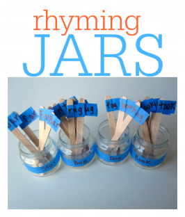 Rhyming Jars