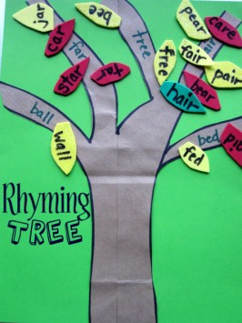 Rhyming Tree - Early Literacy Lesson