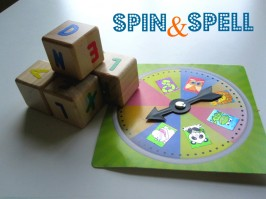 Spin and Spell - Spelling Game