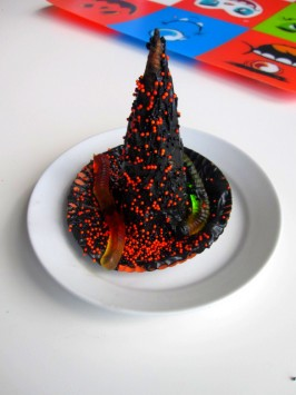 halloween witches hat treat