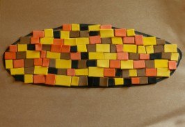 Indian Corn Mosaic Craft
