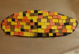 Indian Corn Mosaic Craft