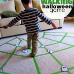 Spider Web Gross Motor Activity – Halloween Game For Kids