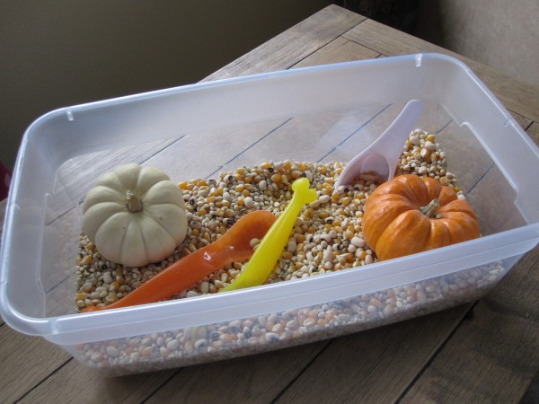 Simple Sensory Tub