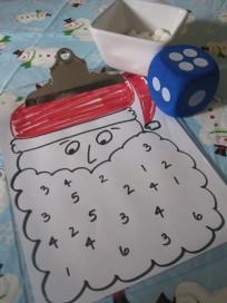 Santa Math Game