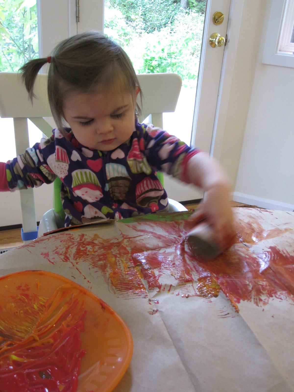 Handprint Turkey Craft for Toddlers