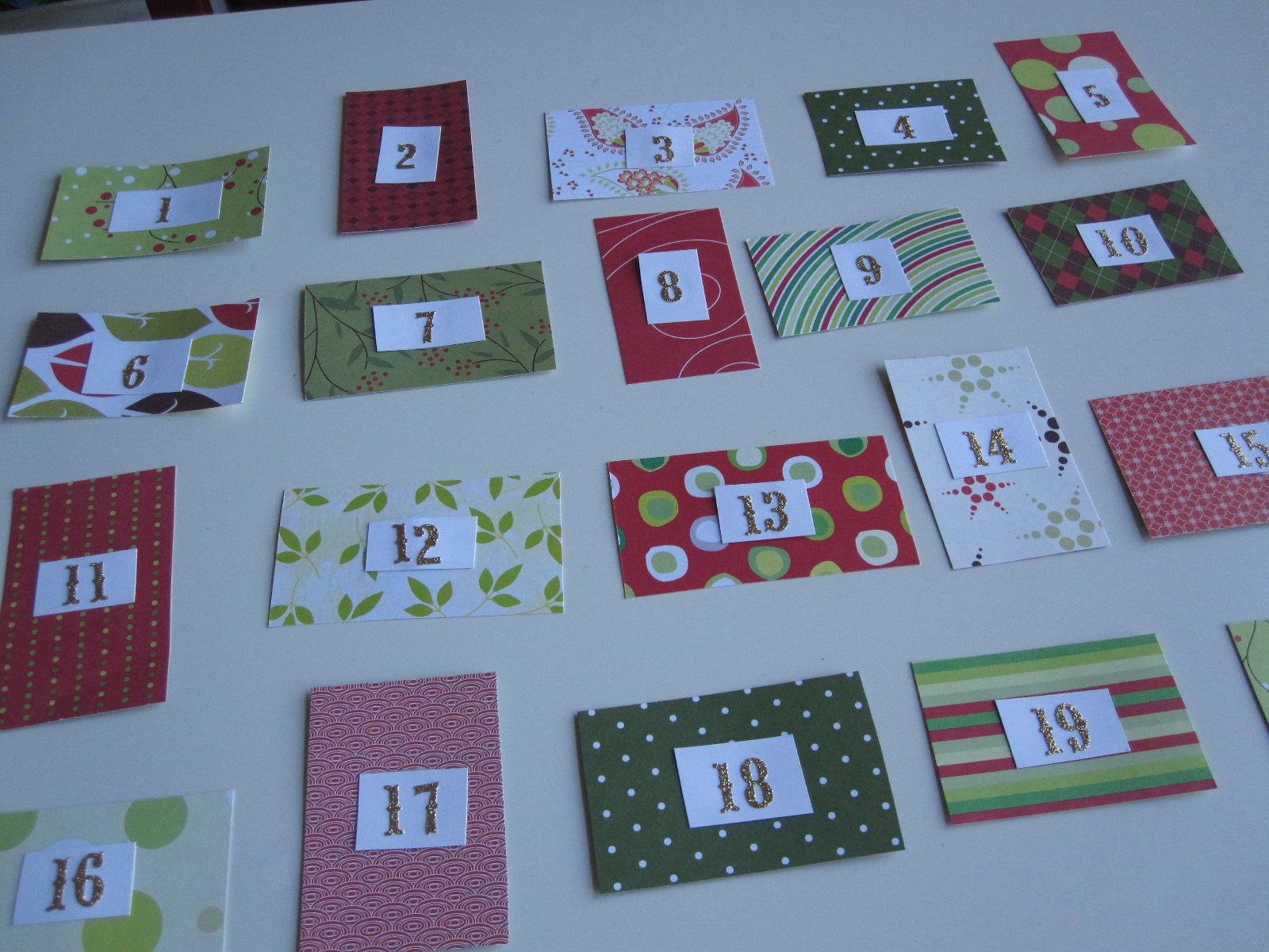 Advent Calendar Self Made : Diy advent calendar made from wipes lids no time for