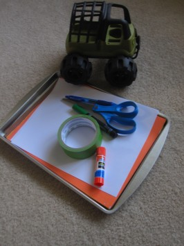 gross motor reading game
