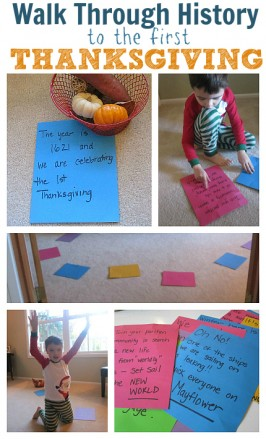 Thanksgiving History Activity For Kids – with FREE Printable Timeline and Discussion Questions