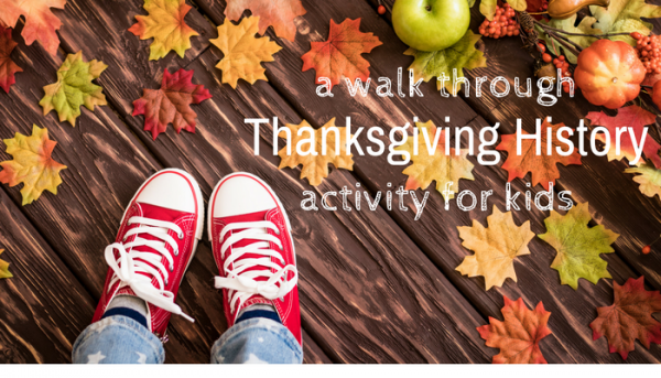 Thanksgiving history activity for kids