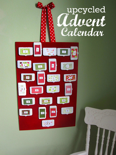 Advent Calendar Craft Kindergarten : Diy advent calendar made from wipes lids no time for