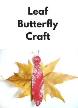 Fall Butterfly Leaf Craft