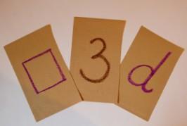 Sandpaper Letter Tracing