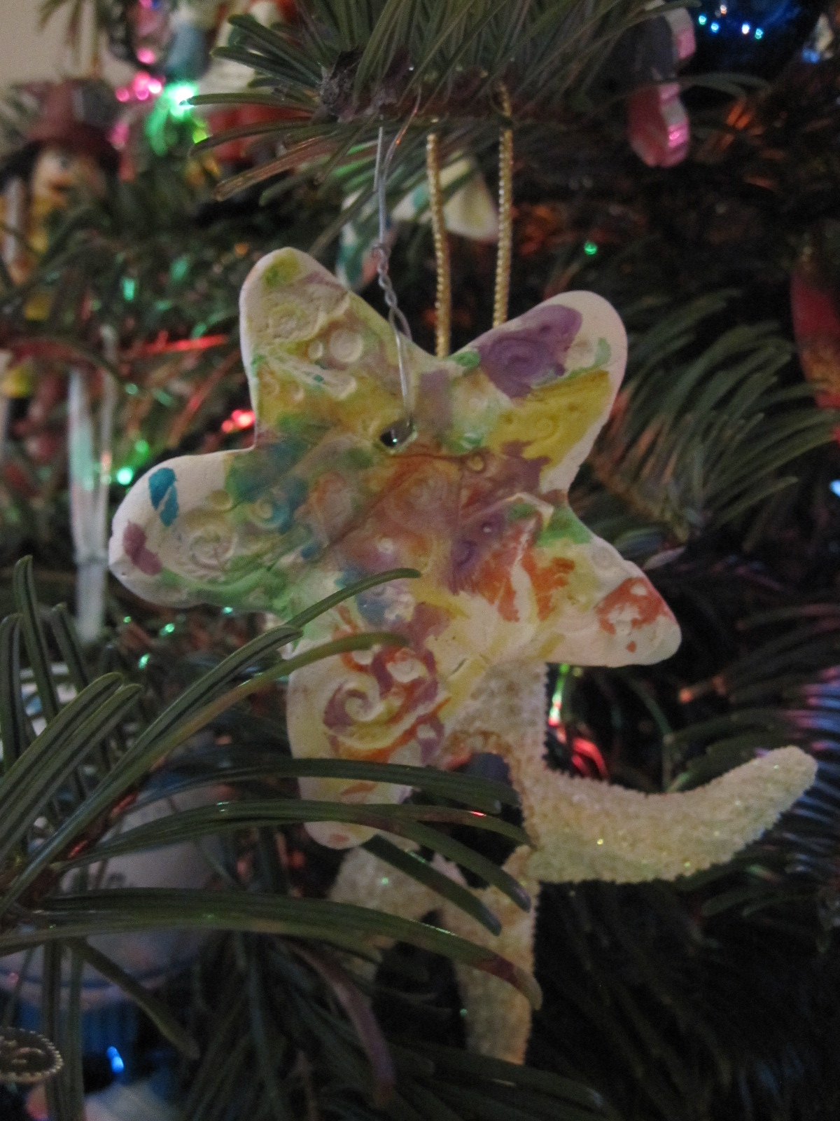 Clay Ornaments Made With Stamps Amp Cookie Cutters No