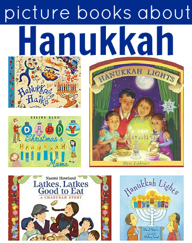 picture books about hanukkah