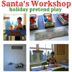 Santa's Workshop Pretend Play