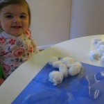 Toddler Friendly Snowflake Craft