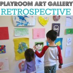 Celebrate New Years –  Kid Art Retrospective