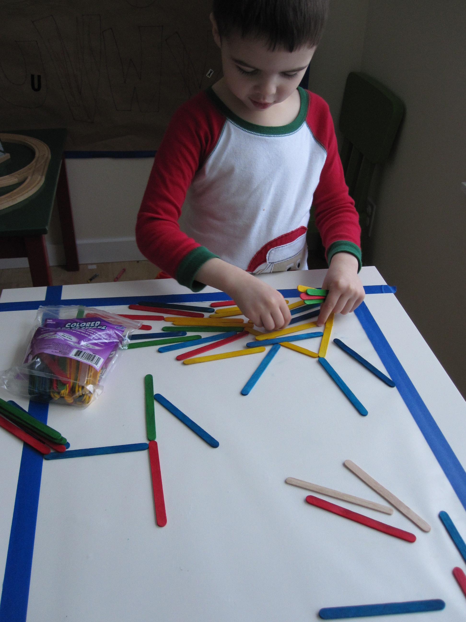 and preschool art table42 art