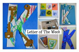 Letter of The Week-Letter K