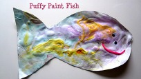 Puffy Paint Fish